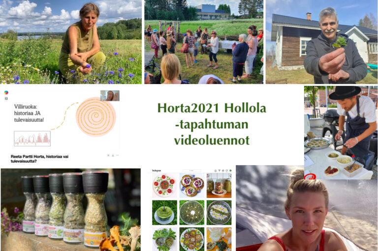 Horta2021 Hollola -tapahtuman videoluennot